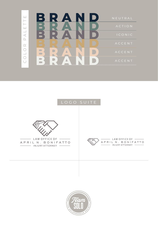 April N. Bonifatto Brand Identity Design