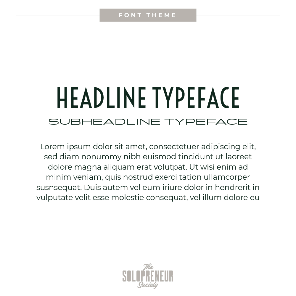 Davalt Optical Brand Identity Font Theme