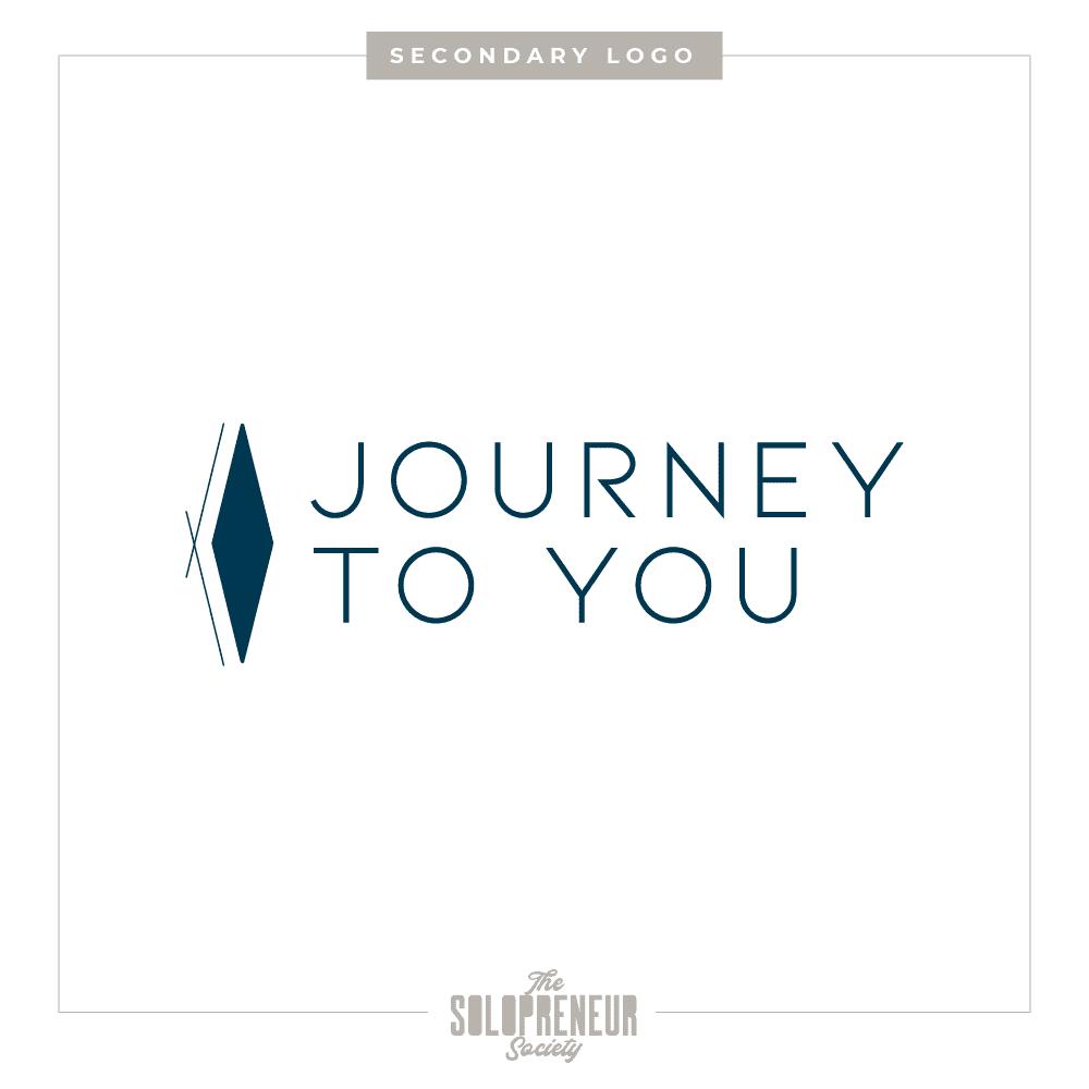 Journey To You Brand Identity Secondary Logo