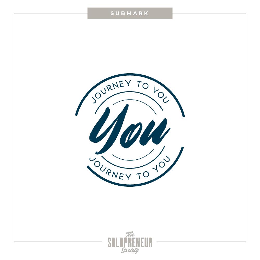Journey To You Brand Identity Submark Logo