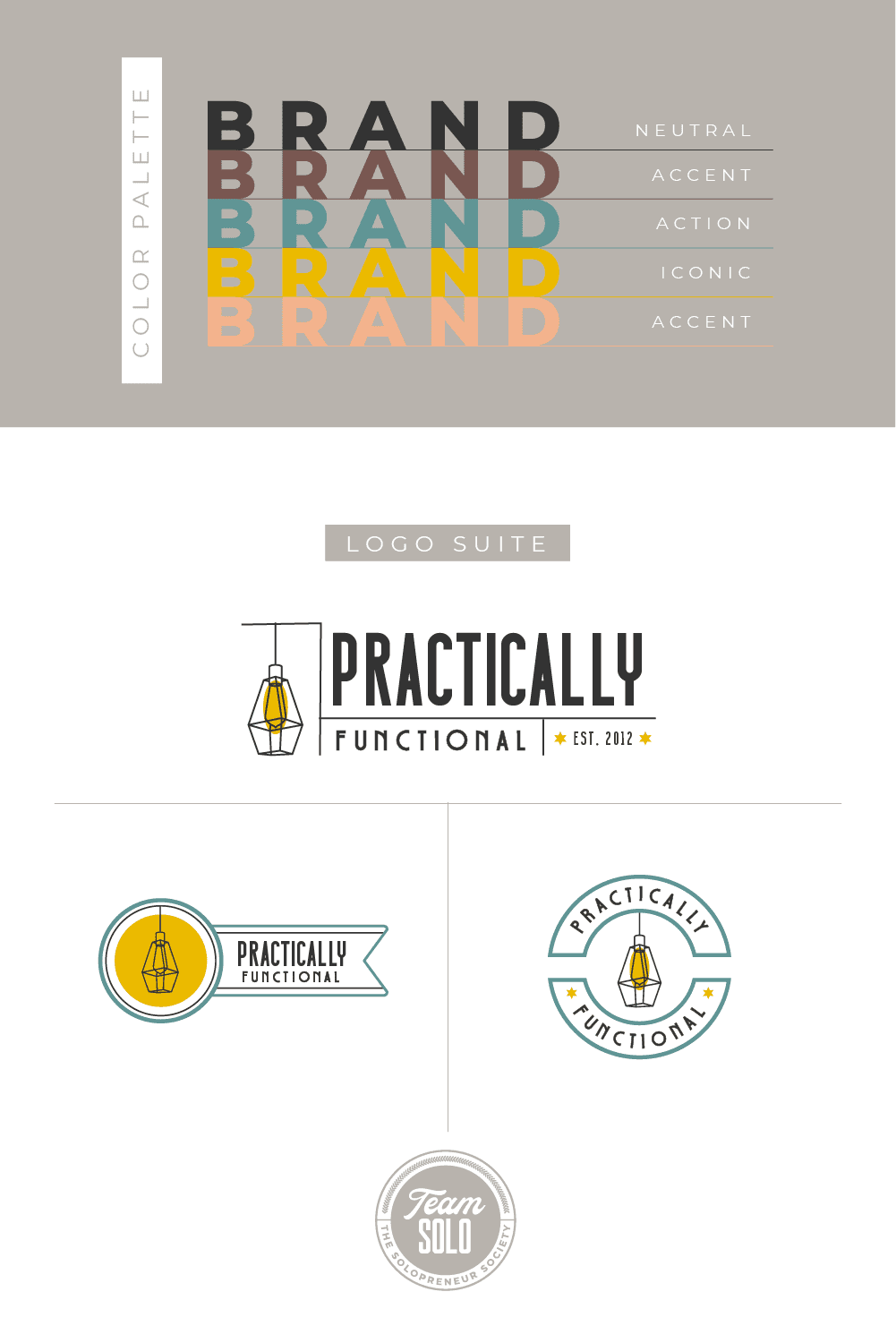 Practically Functional Brand Identity Design