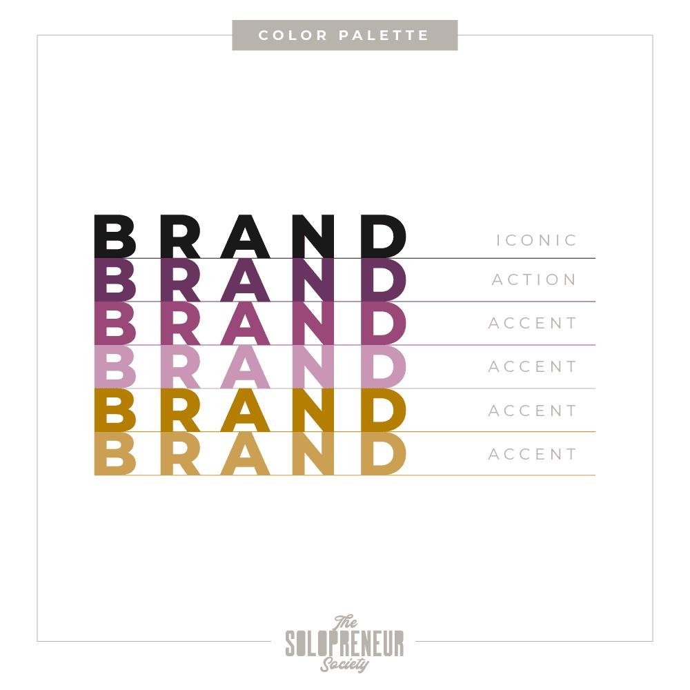 Samadhi Health Brand Identity Color Palette