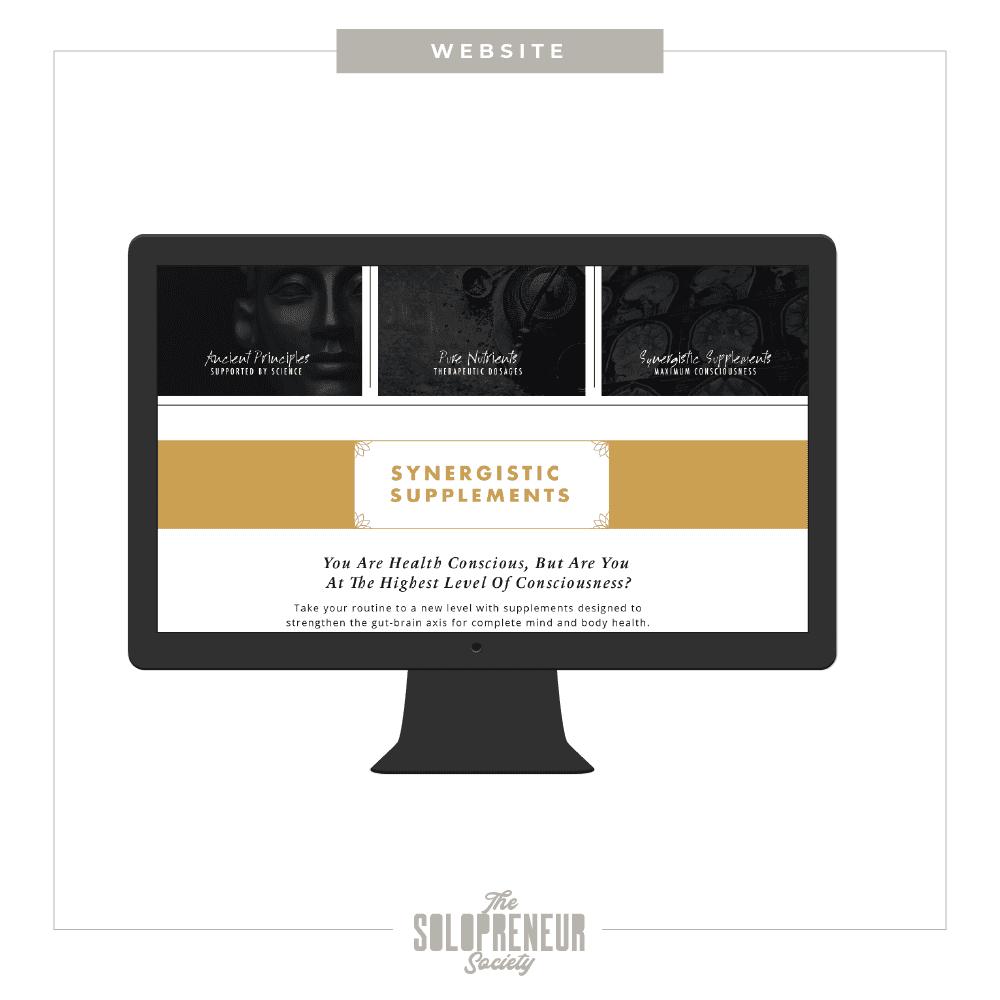 Samadhi Health Brand Identity Website