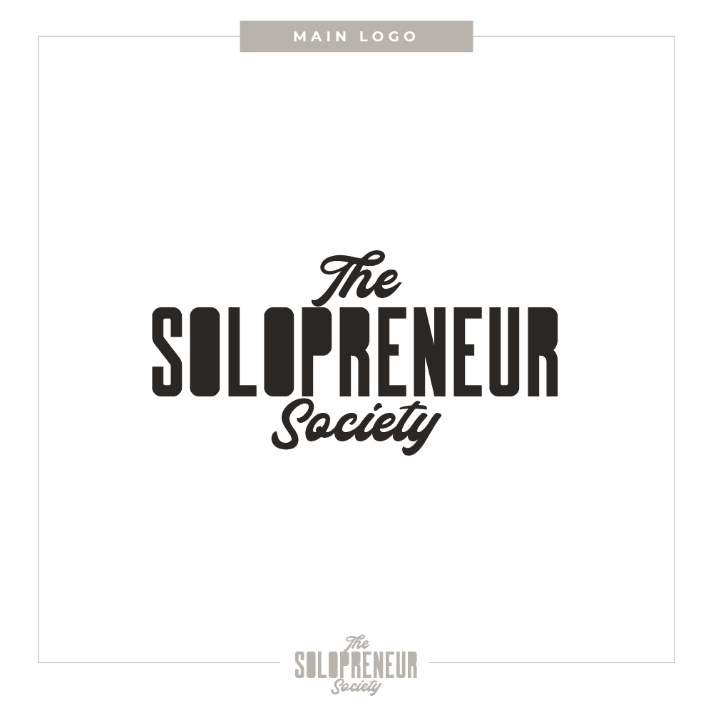 The Solopreneur Society Brand Main Logo