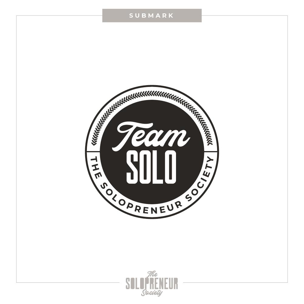 The Solopreneur Society Brand Submark Logo