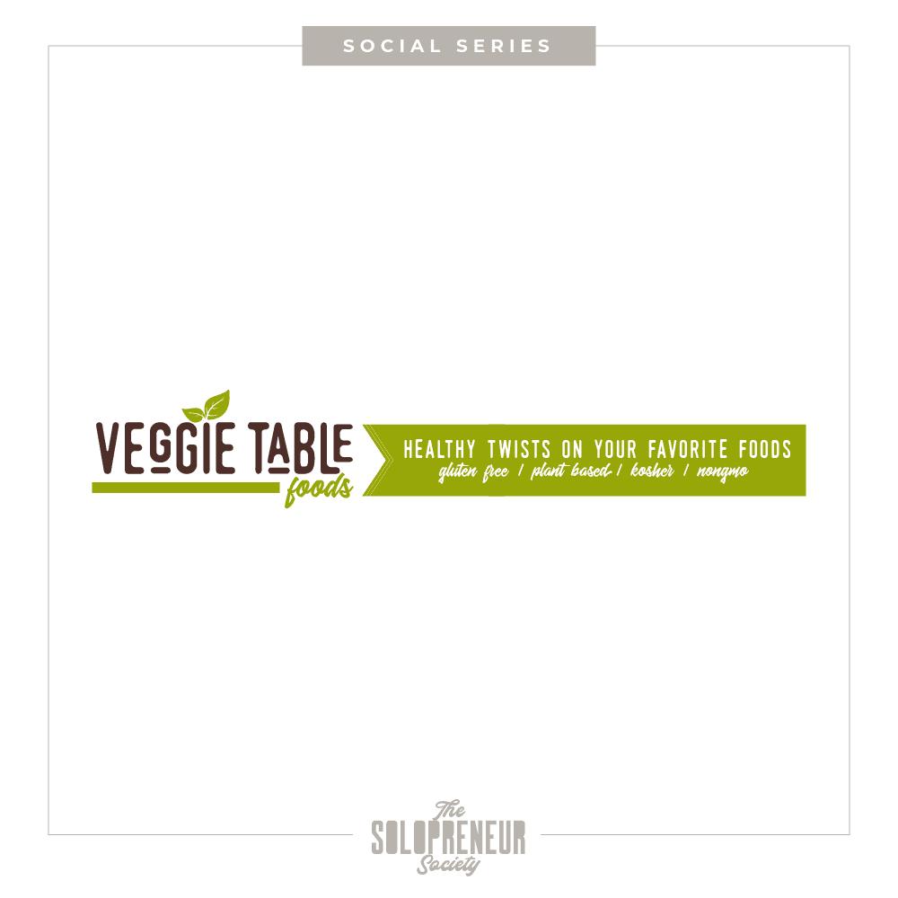 Veggie Table Foods Banner