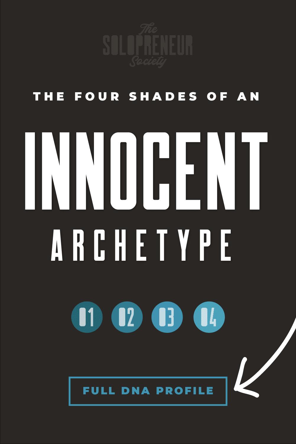 Innocent Archetype Brand Personality