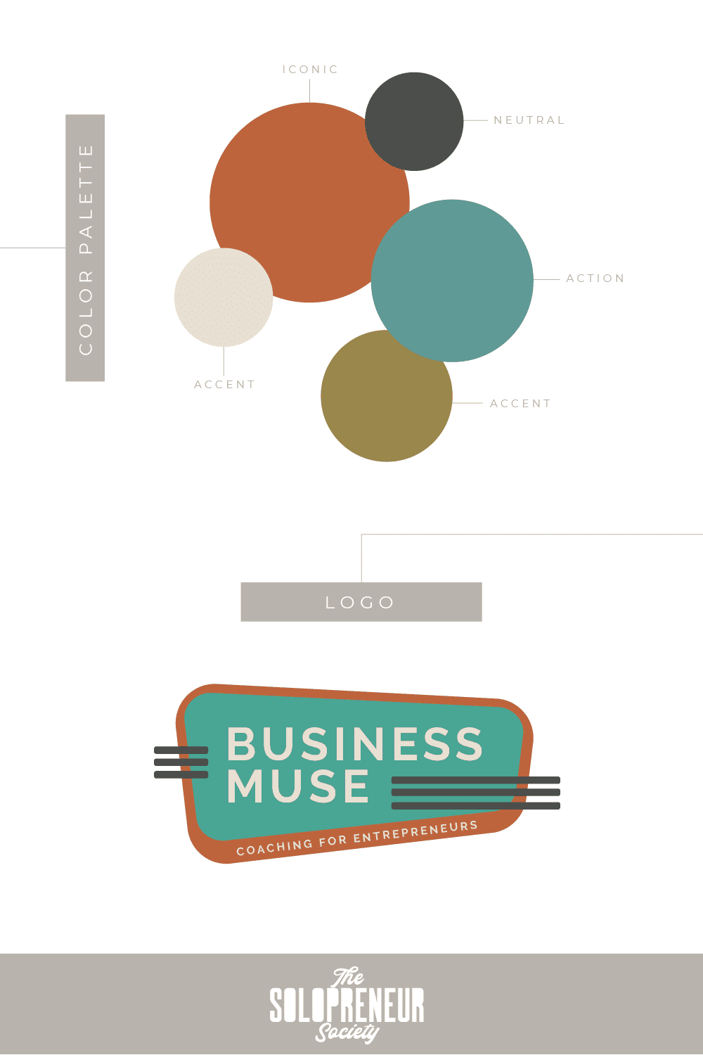 Business Muse Brand Identity Design