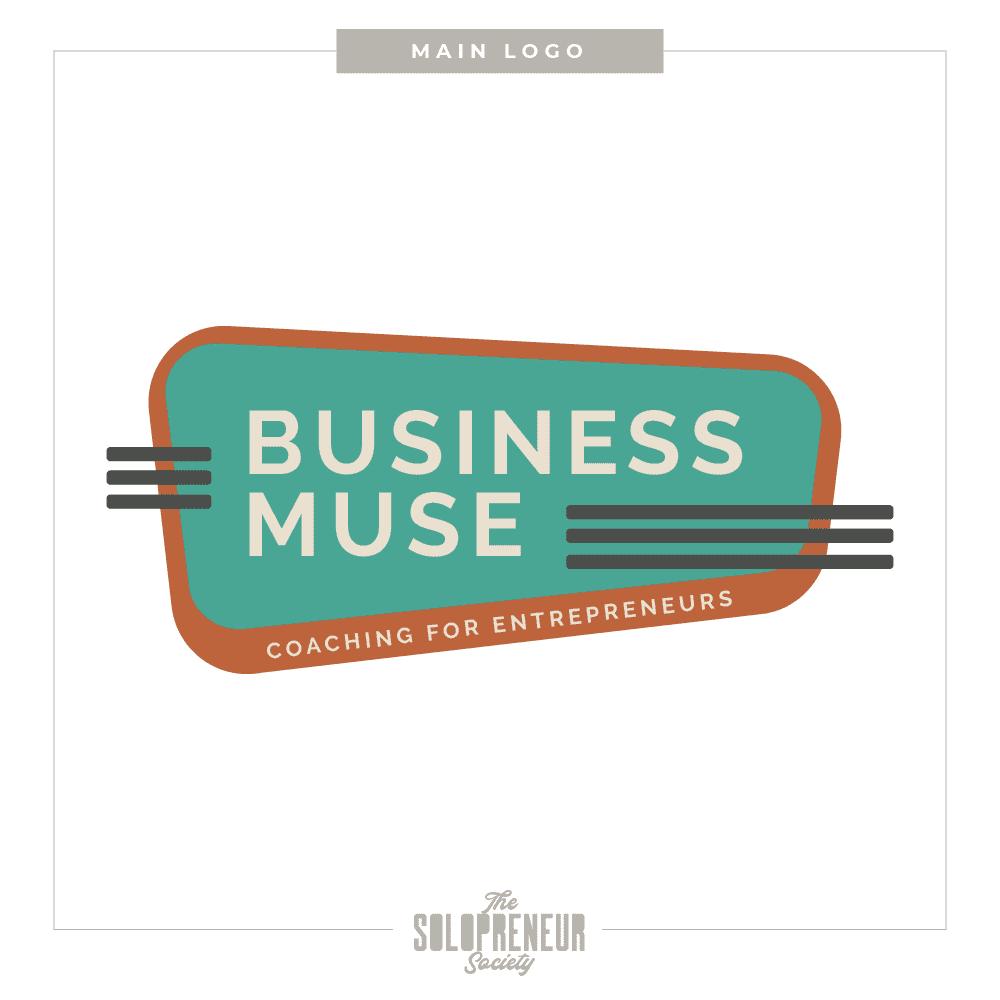 Business Muse Brand Identity Main Logo