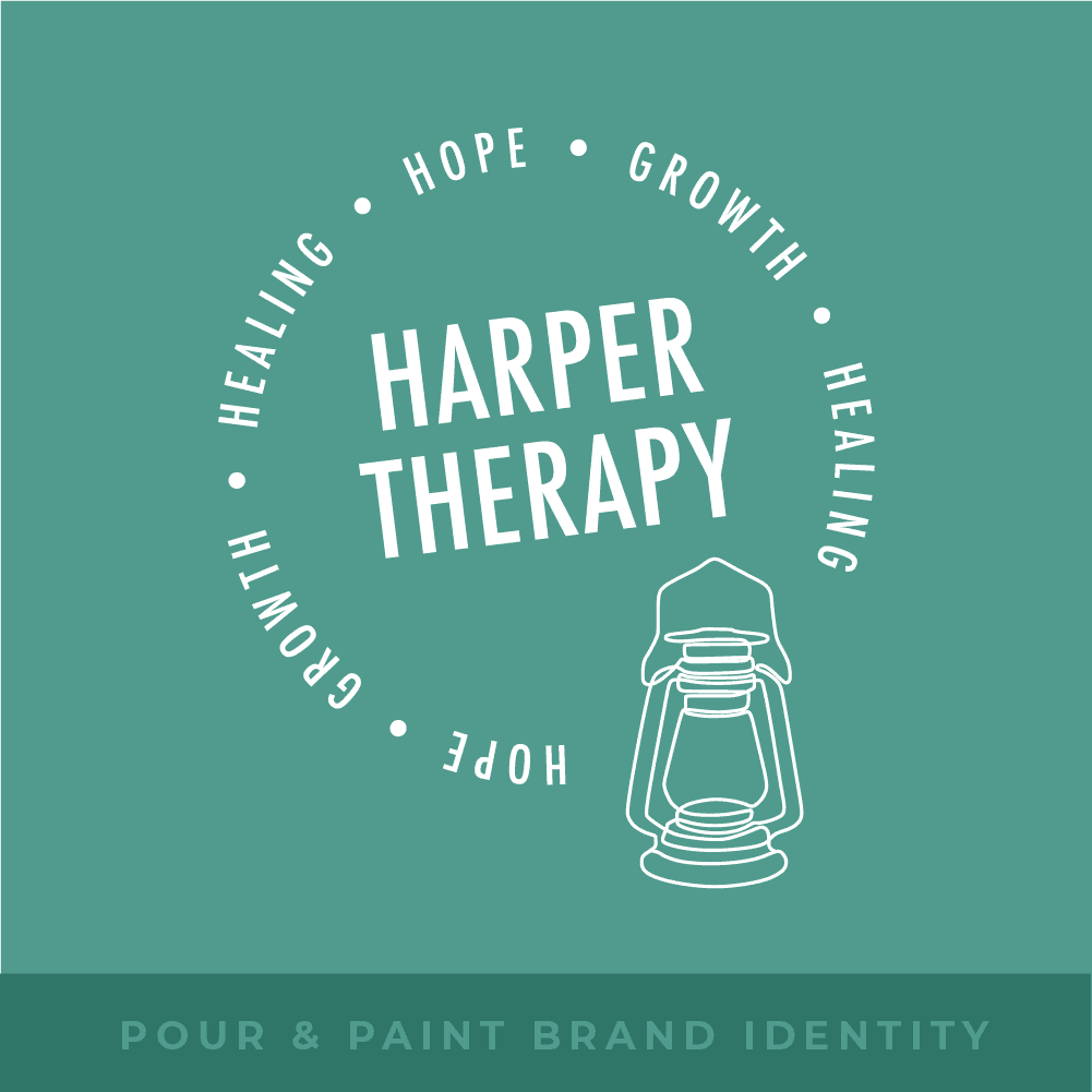 Harper Therapy Brand Identity Featured Image